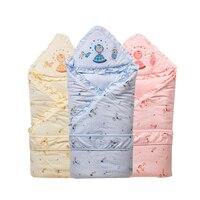 Autumn Winter Muslin Cloth Cotton Newborn Baby Blankets Gauze Bath Towel Hold Wraps Bedding Baby Quality Blanklet 50X0003