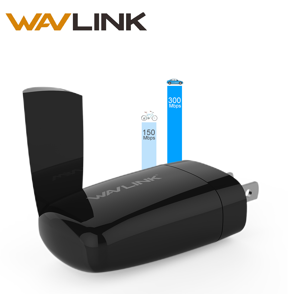 Wavlink Boosters Wifi-Repeater Travel Signal-Amplifier Range-Extender 300mbps Mini Wi-Fi