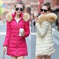 Na Venda de Inverno Jaquetas Para As Mulheres de Marca Designer de Moda Inverno Nova Chegada Do Sexo Feminino Casual Manga Comprida Casacos Quentes Longos