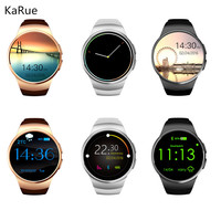 KaRue KW18 Bluetooh Smart Watch Heart Rate Monitor Support SIM TF Card Smartwatch for iPhone Samsung S2 Android Smartwatch