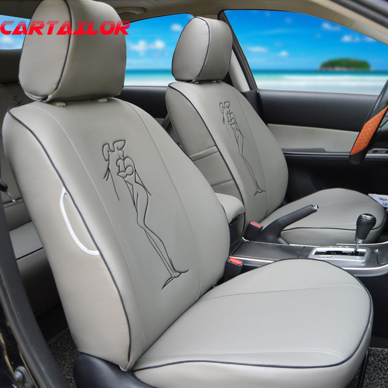 cartailor custom seat covers for infiniti jx35 car seat cover pu leather auto accessories front. Black Bedroom Furniture Sets. Home Design Ideas
