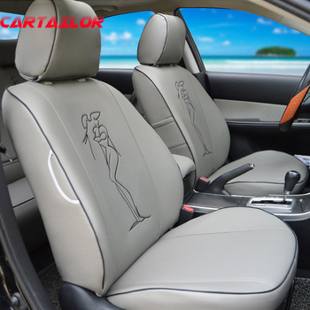 CARTAILOR Custom Seat Covers for Infiniti JX35 Car Seat Cover PU Leather Auto Accessories Front & Rear Cover Seats Protection