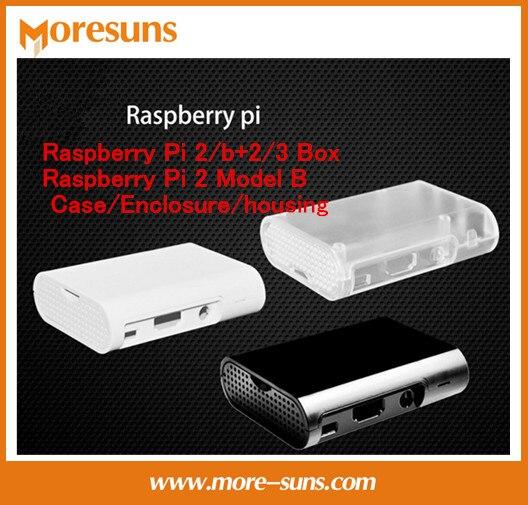 Быстрая Бесплатная доставка 20 штук для Raspberry Pi 2/b + 2/3 коробка Raspberry Pi 2 Модель в случае/корпус /корпус