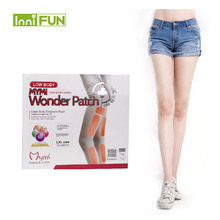 18pcs box Model Favorite MYMI Wonder Slim Patch for Leg and Arm Slimming Products font b
