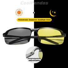 2019 Brand Design Men Polarized Chameleon Photochromic Sunglasses Anti Glare Gla