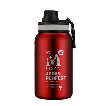 580ML/880ML Double wall Vacuum Stainless steel sports water bottle creative BPA free healthy car driving thermal water bottle 4