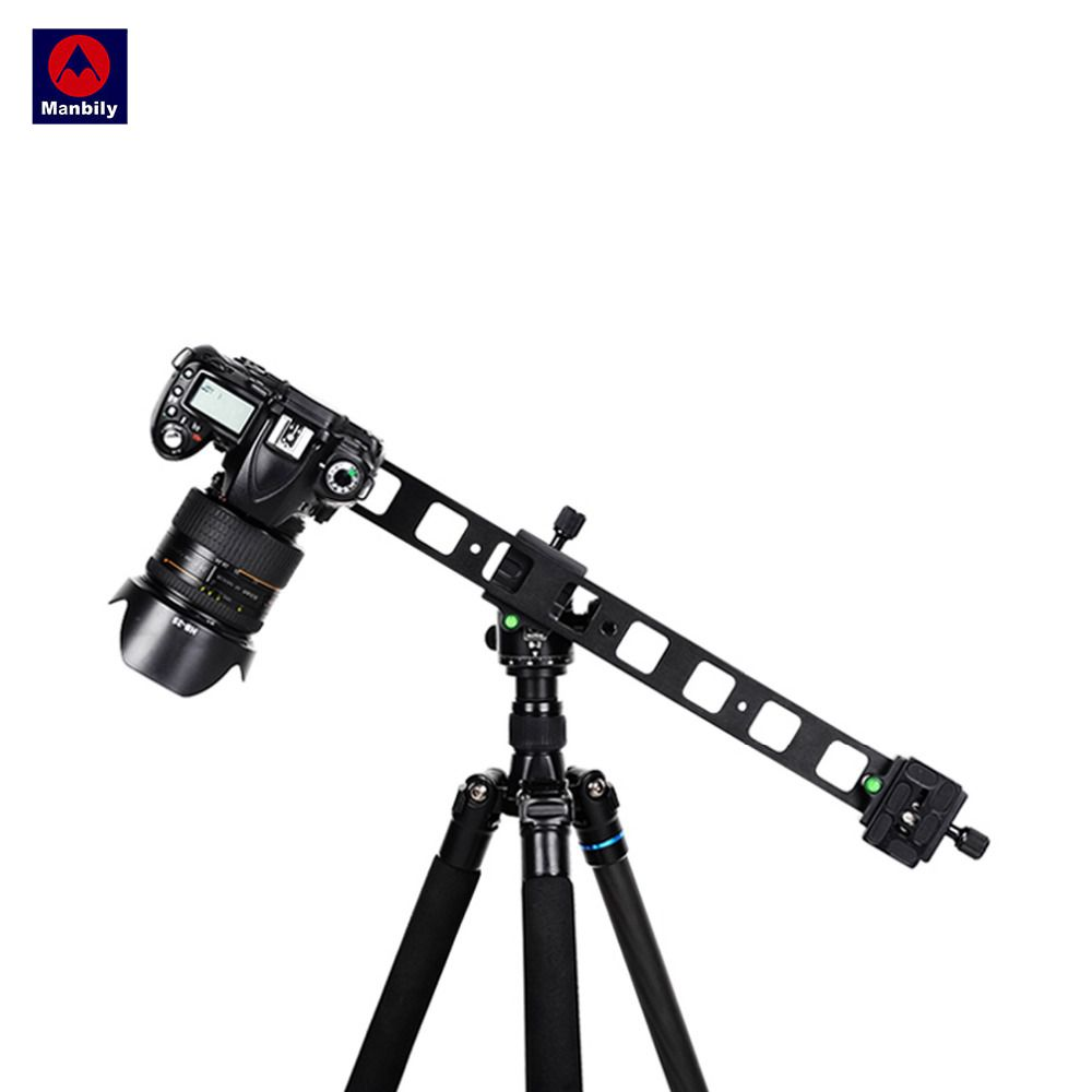 Manbily PU 480 Camera Slide Lengthen Fast mounting plate 1 4 Universal Tripod s quick release