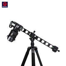 """Manbily PU 480 Camera Slide Lengthen Fast mounting plate 1/4""""Universal Tripods quick release plate mini slide for DSLR Camera"""