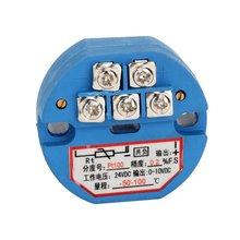 RTD PT100 Temperature Sensor Transmitter DC24V -50~100 degree output 0-10V(China (Mainland))