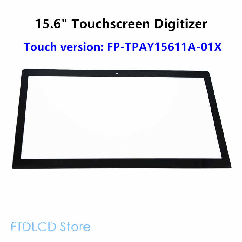 LCDOLED 15.6'' Touch Screen Digitizer Glass FP TPAY15611A