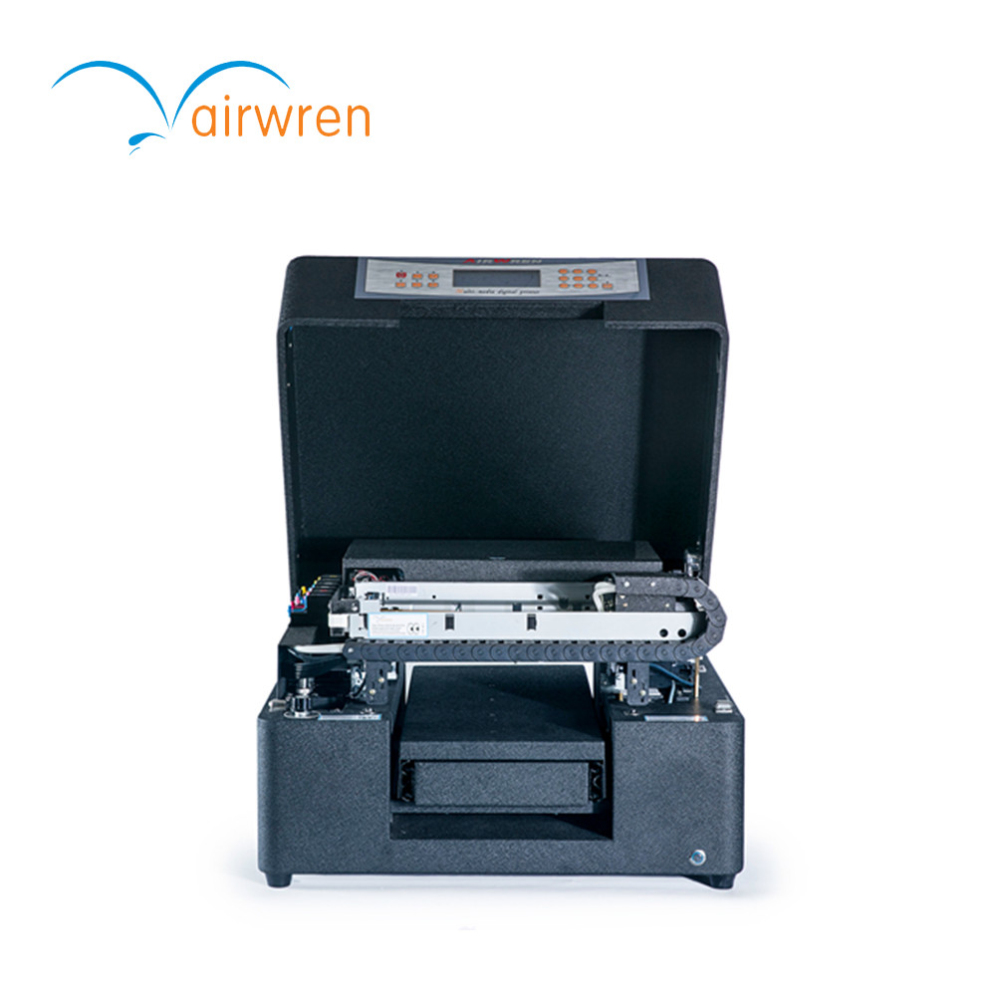 High Quality Full Color Uv Flatbed Printer For Glass Wood Cellphone Case Printing Machine