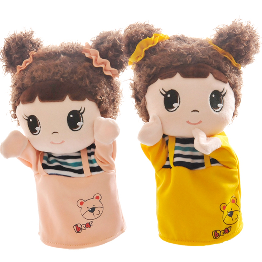 26cm Children Doll Hand Puppet Toys Classic Children Figure Toys Kids Doll For Gifts Cartoon Soft Plush Collection