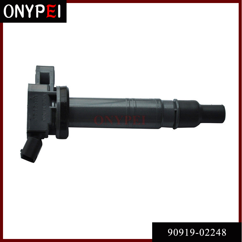 High Performace 90919-02248 Ignition Coil For Toyota 4Runner Tacoma Tundra Lexus ISF 90919-A2006 90919-A2001 UF495 <font><b>9091902248</b></font> image