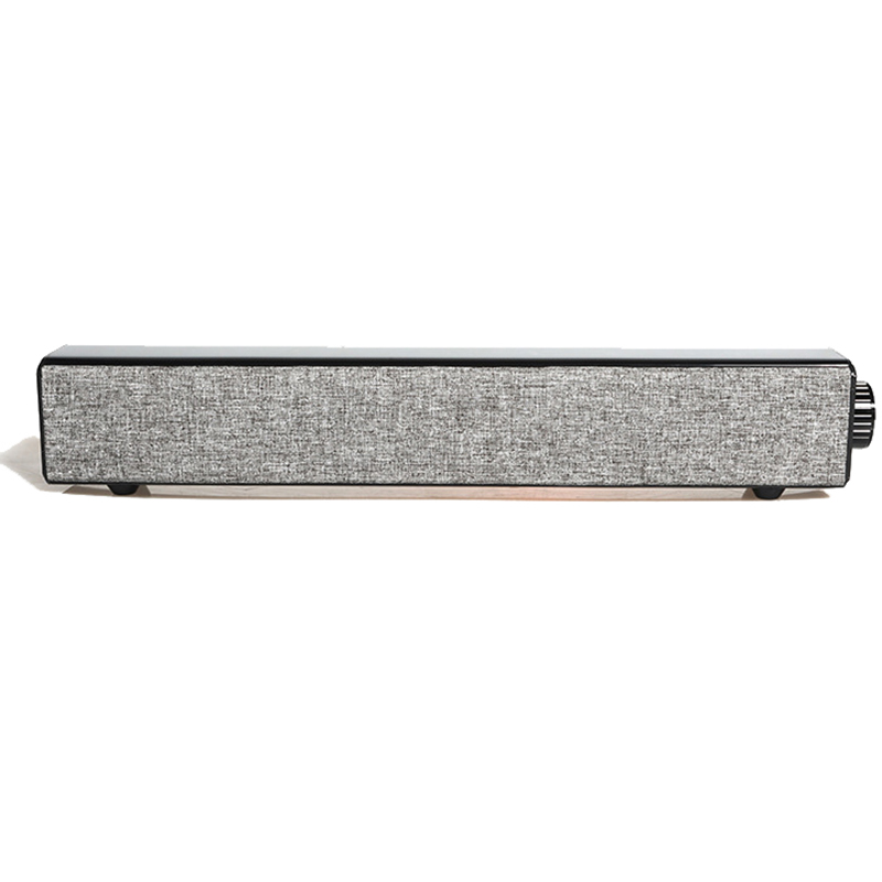 Home theatre Bluetooth Sound bar, Portable Dual Track Fabric Music speaker, 20W out power AUX audio input, apply to Home Outdoor