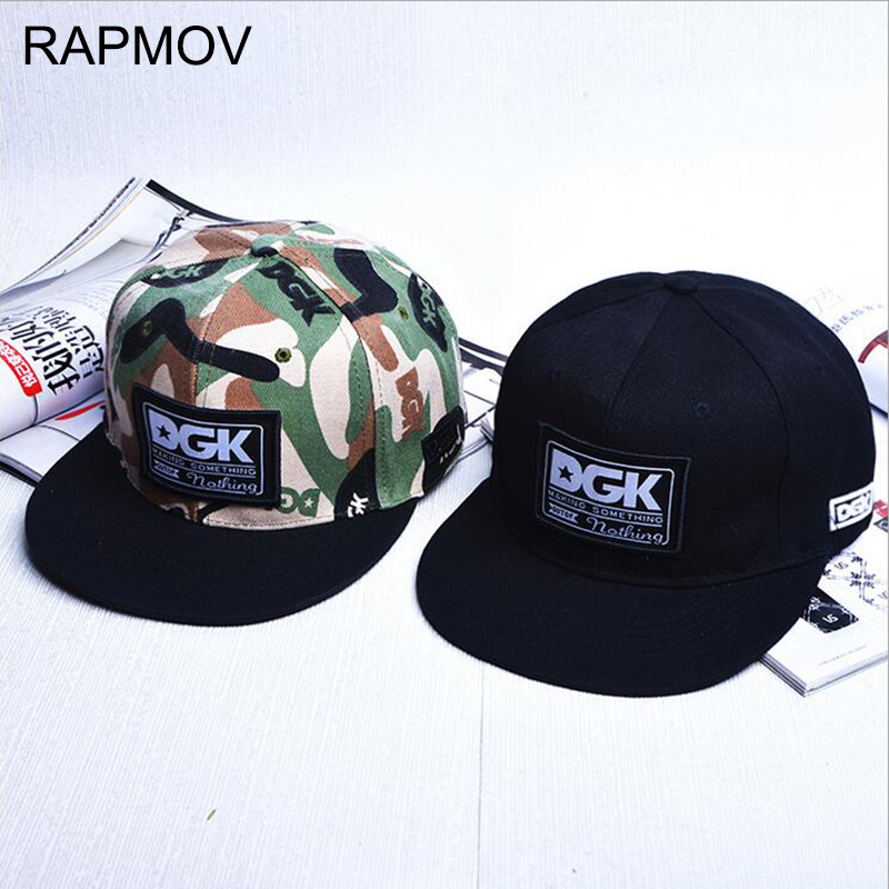 2017 Brand new DGK camouflage snapback hat beisbol cap for men women Fashion style street skateboard hip hop baseball cap brand new camouflage snapback hats adjustable street skateboard hip hop baseball cap falt hat for men and women run letter caps