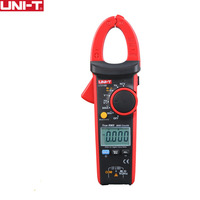 Professional UT216B LCD Display 600A True RMS Digital Clamp Meters Auto Range w/ NCV V.F.C. & Frequency Current Clamp Tester
