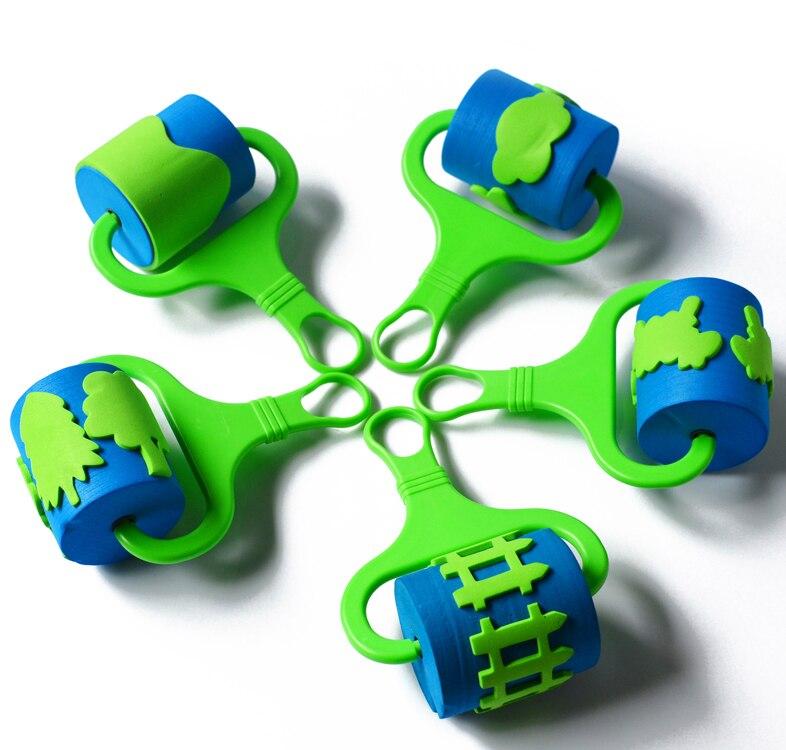 16cm-EVA-Sponge-Roller-Paintbrush-For-Kids-Drawing-Animal-Childrens-Paint-Graffiti-Nursery-Art-And-Craft-Paint-Roller-Brusher-4