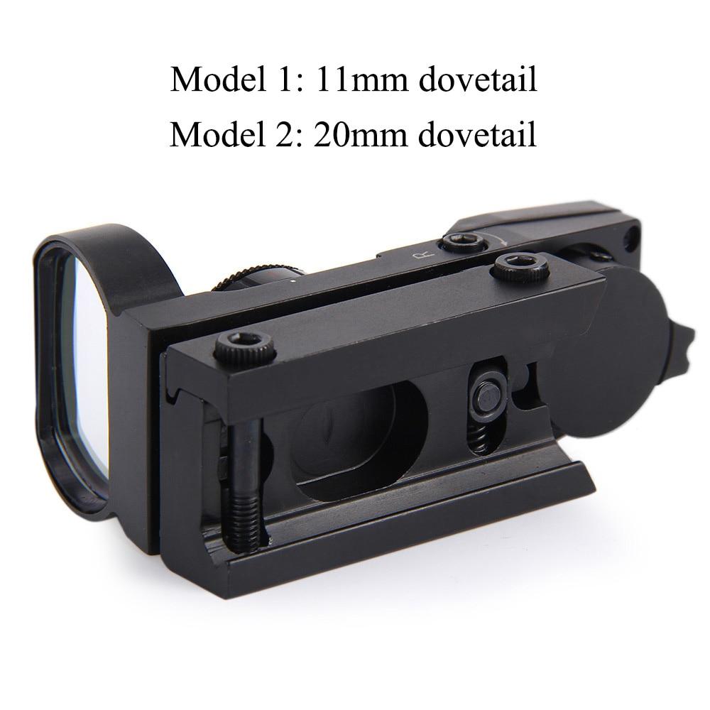 Qırmızı nöqtə dairəsi 11mm / 20mm Dovetail Riflescope Reflex - Ovçuluq - Fotoqrafiya 5