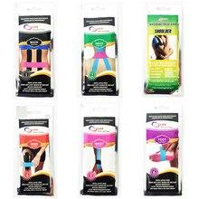 Thérapie sportive traitement musculaire multicolore prédécoupé tape pour  retour épaule pied poignet cou genou muscle bande c72fa19abba