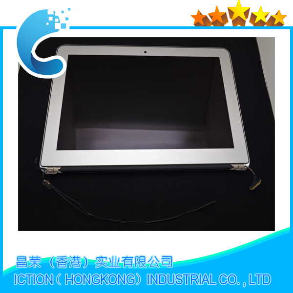 Genuine New A1466 13 LCD Screen Display Assembly for Apple MacBook Air 13.3 A1466 Mid 2013 Early 2014 2015 MD760LL/A MJVE2LL/A hsw rechargeable battery for apple for macbook air core i5 1 6 13 a1369 mid 2011 a1405 a1466 2012