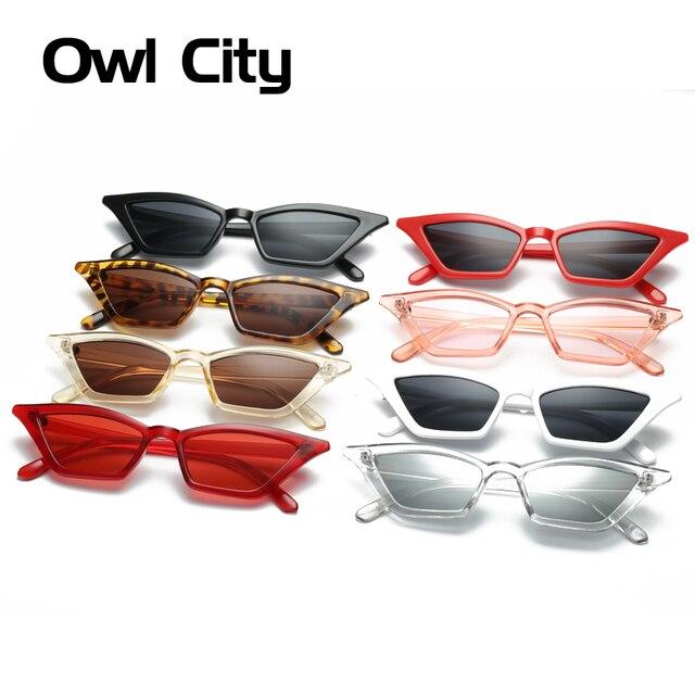 Vintage Sunglasses Women Cat Eye Luxury Brand Designer Sun Glasses Retro Small Red ladies Sunglass Black Eyewear oculos 4