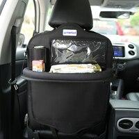Cherrboll السيارات السيارات المقعد الخلفي حقيبة التخزين غطاء مقعد سيارة حامل زجاجة الأنسجة مجلة كأس الغذاء الهاتف حقيبة المقعد الخلفي المنظم