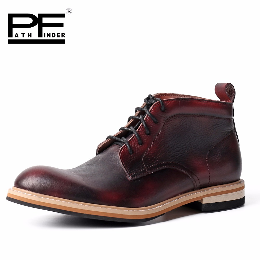 2016 Fashion 100% Genuine Leather Men Dress Shoes Luxury Men's Business Casual Shoes Classic Gentleman Shoes