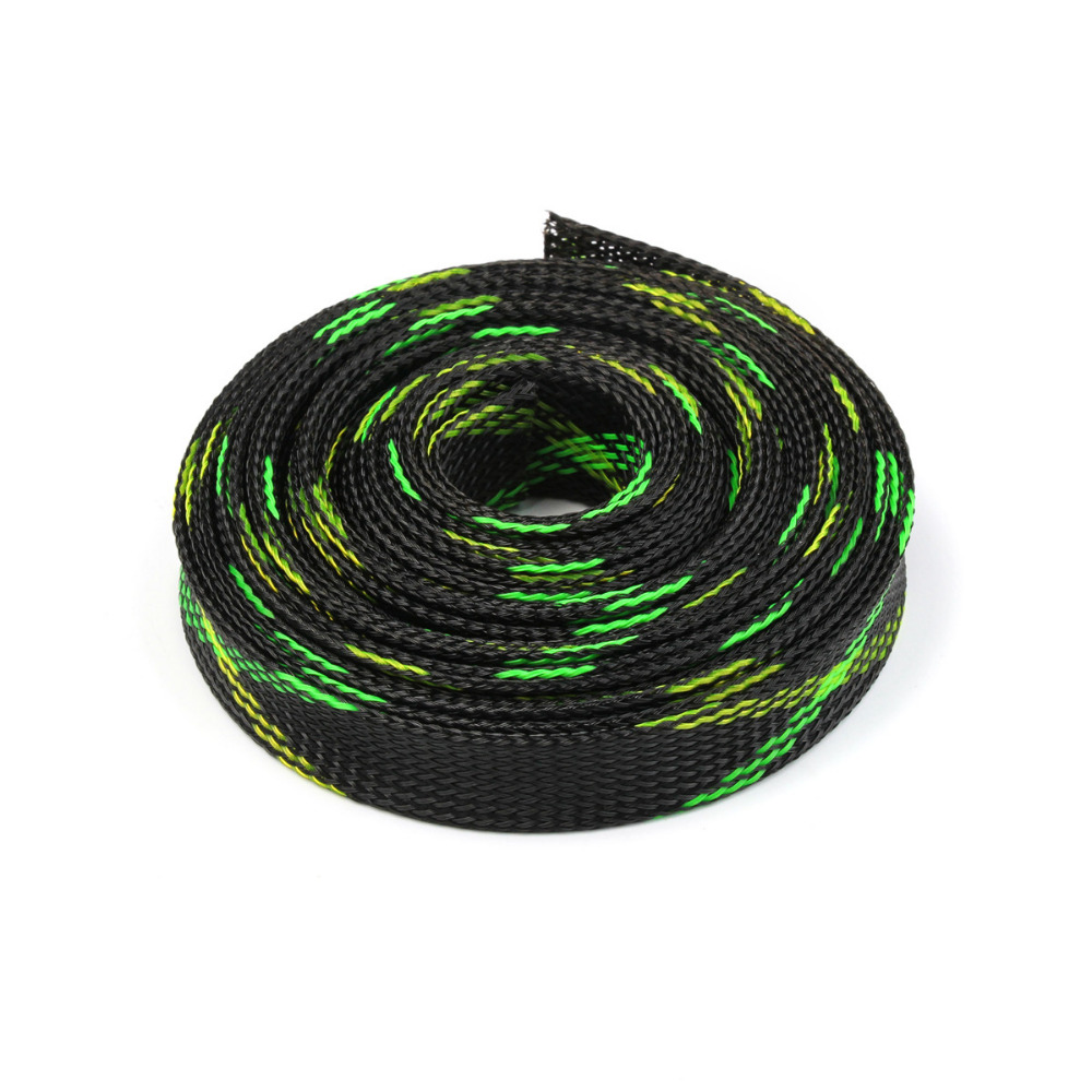 5 Colors 20mm 5m Snakeskin Mesh Wire Protecting Braided Cable Wiring Sleeves Pet Nylon Sleeve Shock For Sets In From Home