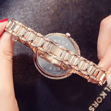 Luxury Crystal Rose Gold Watch