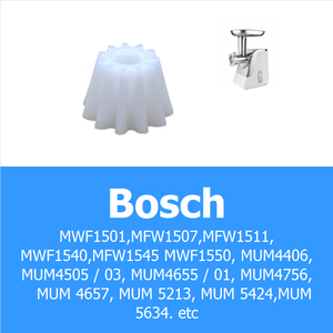 2pcs Gears Spare Parts for Meat Grinder Plastic Reducer Mincer Wheel MCL05DV for Bosch MFW Kitchen Appliance