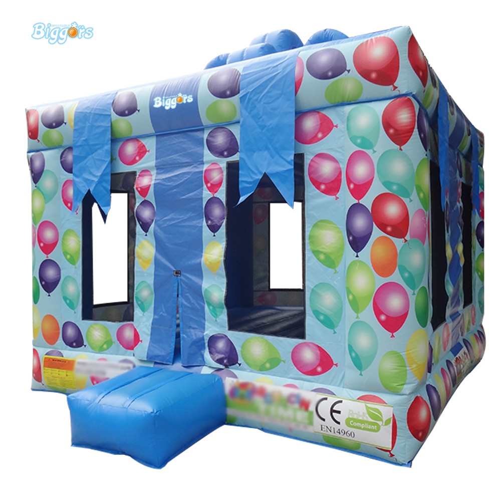 Free Sea Shipping Commercial Small Inflatable Bouncy Castles Trampoline with Gift Box Shape commercial sea inflatable blue water slide with pool and arch for kids
