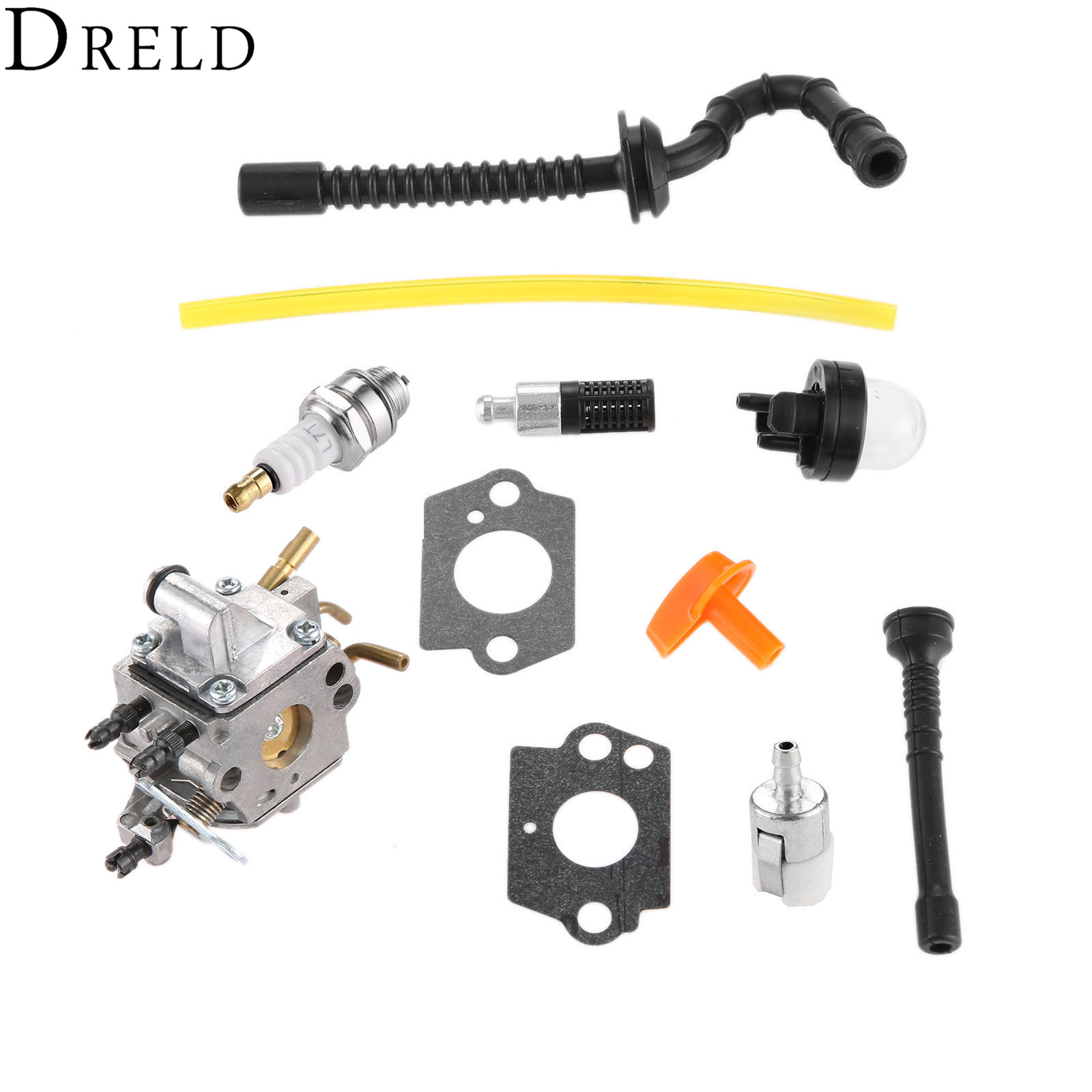 DRELD Carburetor Carb for Stihl MS192 MS192T MS192TC Chainsaw Zama C1Q S258  with Gasket Fuel Filter Hose Pimer Bulb Spark Plug-in Chainsaws from Tools  on ...