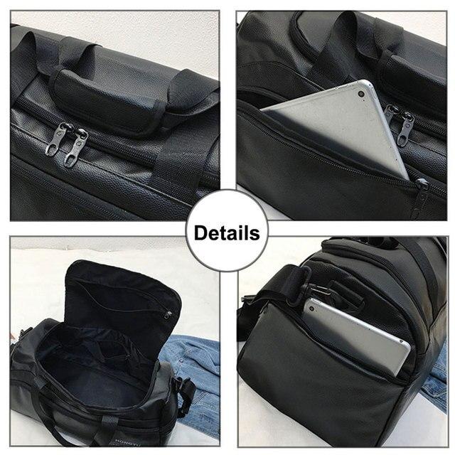 Leather Gym Bag 4