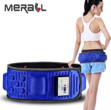 Electric Slimming Massage Belt Waist Belly Slimming Massager Fat Burning Weight Loss Body Shape Fitness Massage Fat Burner недорого