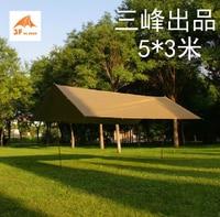 Three Peak Outdoor 5 3 Meters Multi Purpose Windproof Rainproof Anti Ultraviolet Reflective Rope
