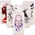 Para wiko lenny 2 funda case silicone tampa traseira transparente casos de telefone tpu macio para wiko lenny 2 coque de cobertura Arriere