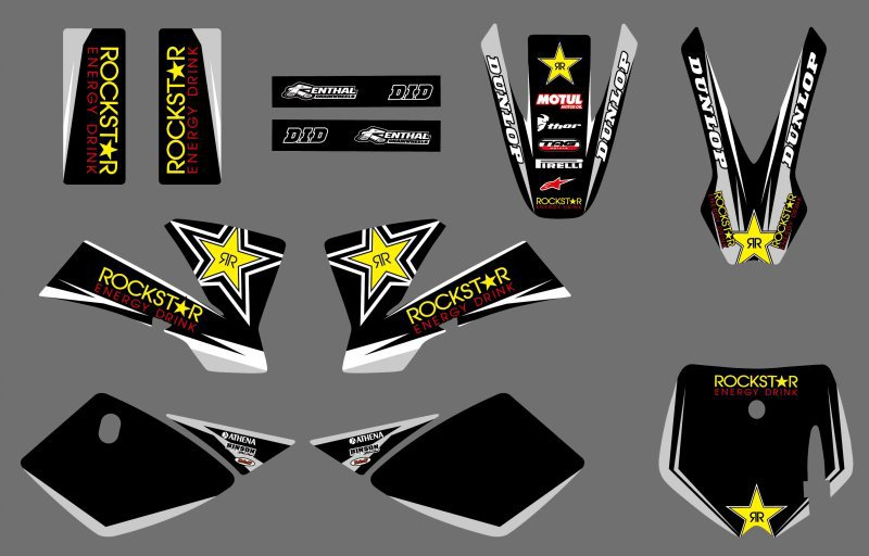 NEW GRAPHICS DECALS Sticker For KTM SX50 SX 50CC 50 KTM50 MTK50 MT50 2002-2008 Motorcycle Graphic Decal