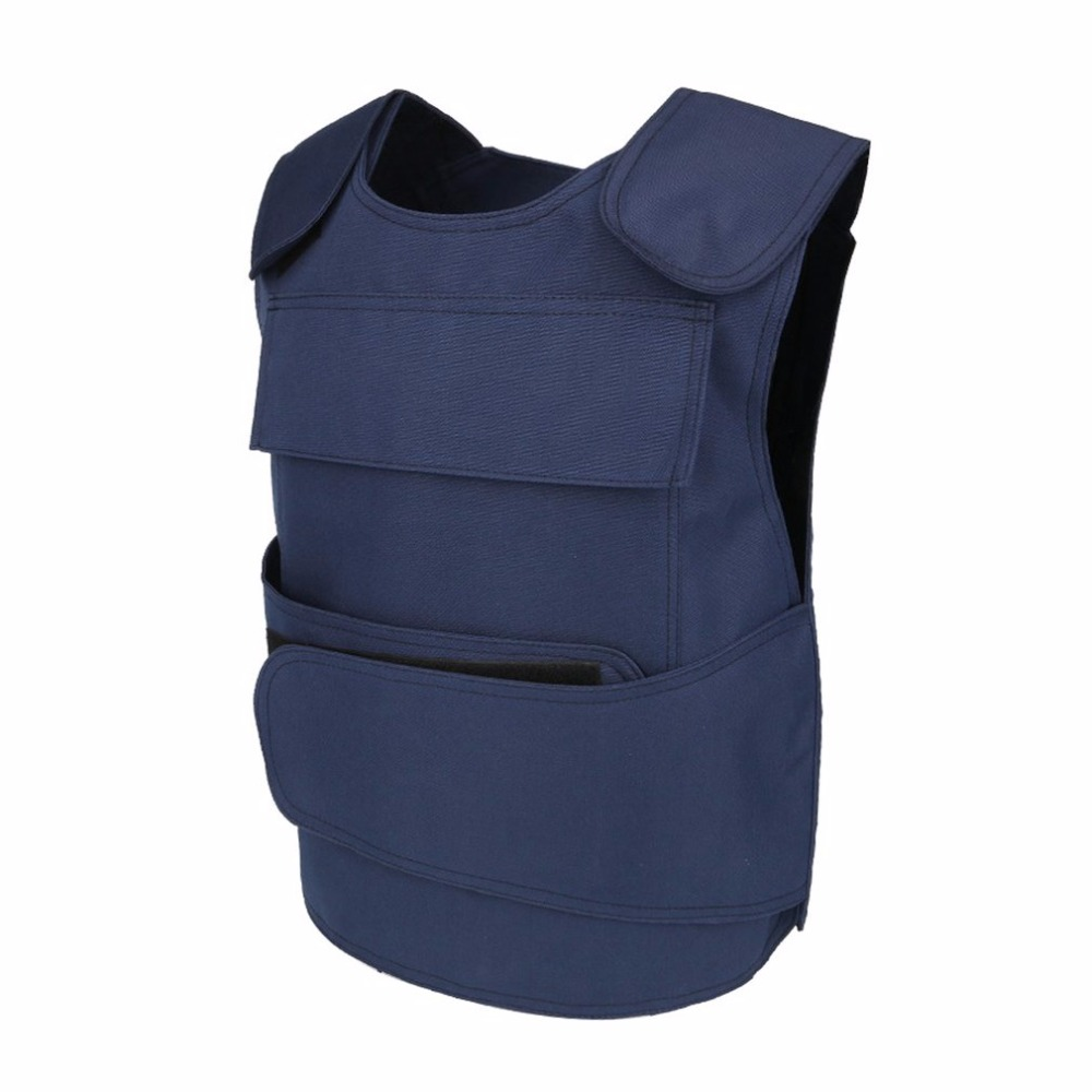 LESHP Tactical Vest Security Guard Vest Stab-Resistant Vest CS Field Genuine Protection Clothing For Men Women No Anti-Cut Liner