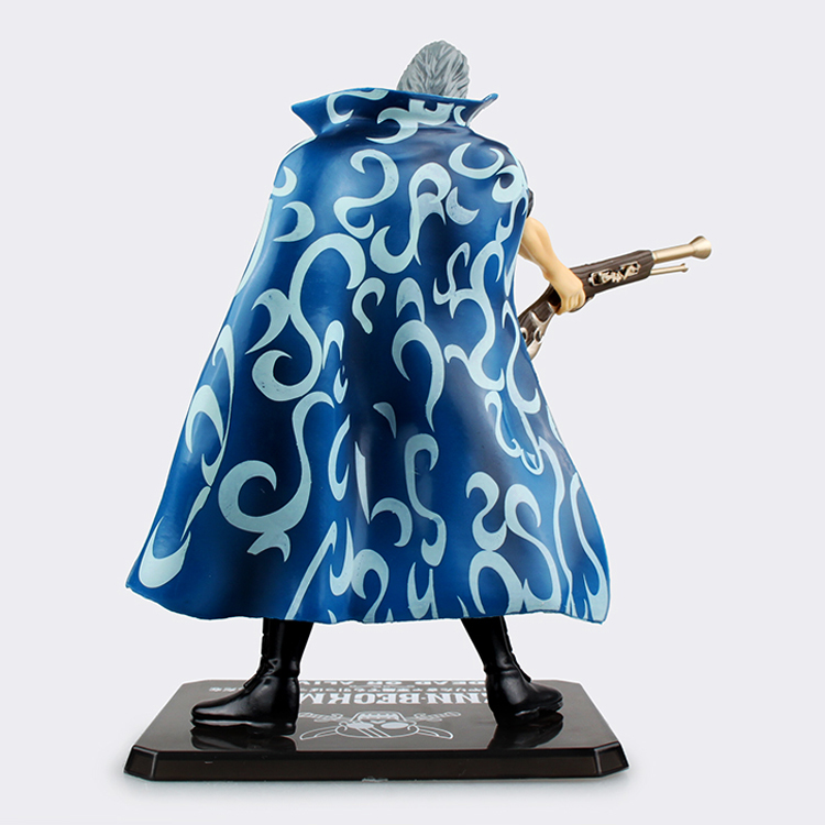 new Anime Figure 17 CM One piece Benn Beckman Red Hair Pirates PVC Action Figure Collectible Model Toy Cartoon Gift Doll