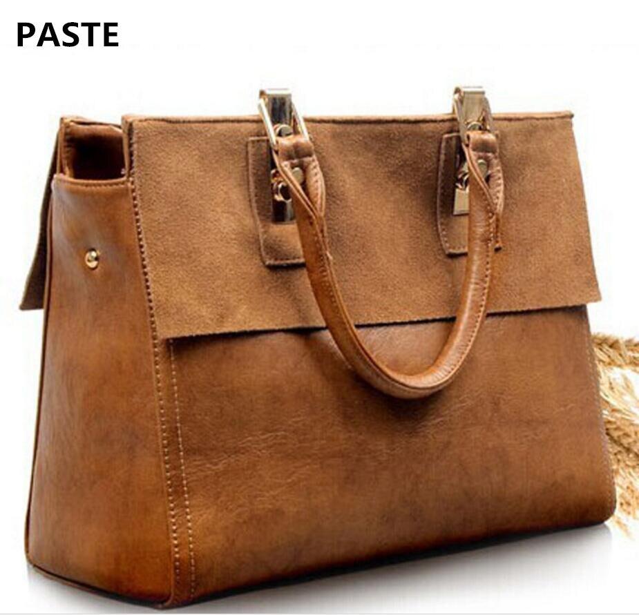 PASTE Brand New Female Retro Style Retro Bag Handbag Female Shoulder Bag Messenger Bag Female Hot Leather Handbags