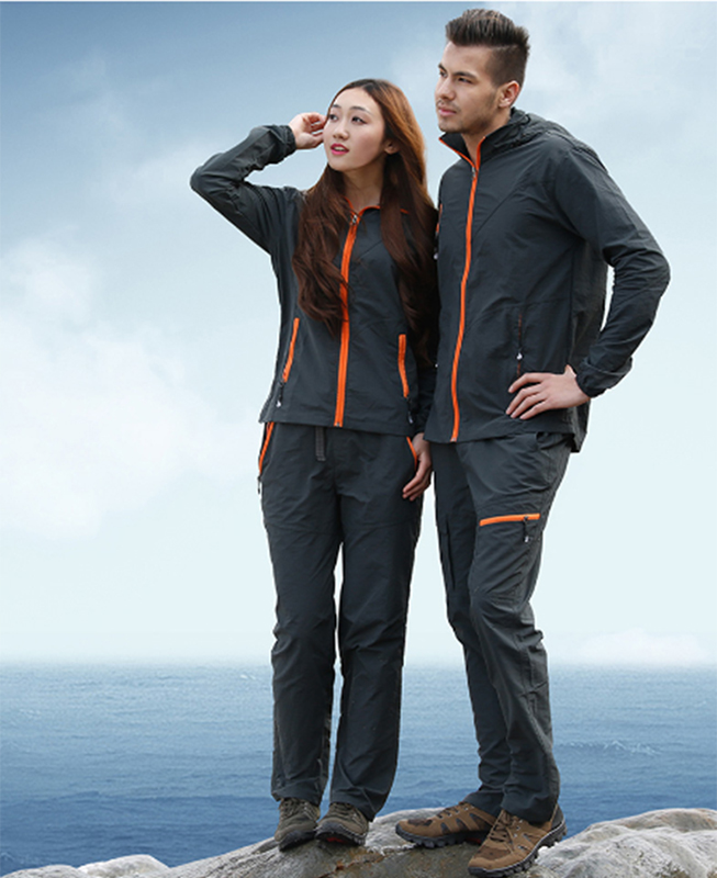 Men Women Spring Summer Fishing Clothing Jacket Breathable Sun Protection Outdoor Sportswear Clothes Fishing Coat Pant