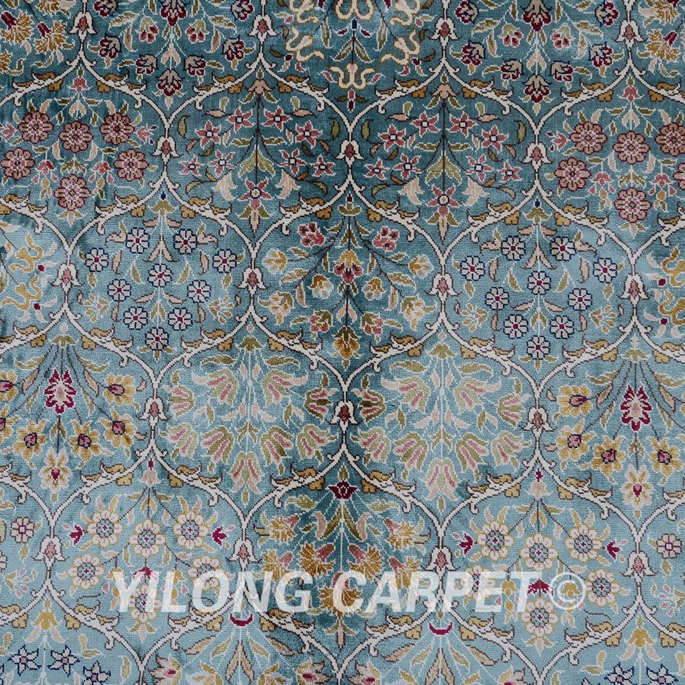 Yilong 5,5'x8 'Hereke preproga pravokotnik modna turška preproga - Domači tekstil - Fotografija 5