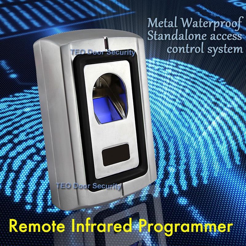 Offline Access Control Fingerprint Access Control  F007 Fireproof Shockproof F007EM Metal ACCESS Building Biometric
