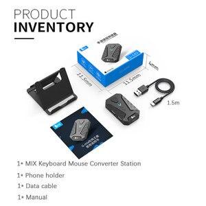 Image 5 - Pubg 게임 변환기 믹스 키보드 마우스 변환기 블루투스 스테이션 스탠드 도킹 아이폰 안드로이드 게임 패드 조이스틱 컨트롤러
