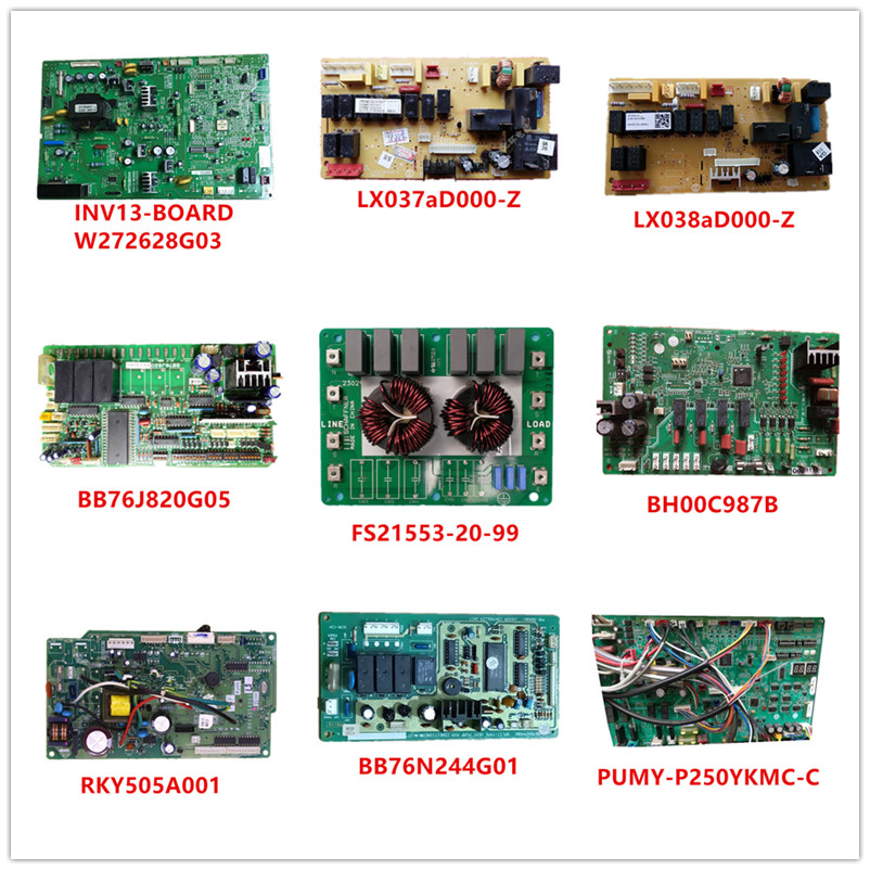 LX037aD000-Z/LX038aD000-Z/BB76J820G05/FS21553-20-99/BH00C987B/RKY505A001/BB76N244G01/PUMY-P250YKMC-C Used Working