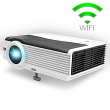 CAIWEI A9(A) LED Projector WIFI 5000 Lumens 1280*800 Home Movie theater portable audio video Projector Android TV /Bluetooth 4.0