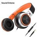 Sound intone c8 cable desmontable auricular con cable con micrófono y control de volumen estéreo auriculares para la computadora del teléfono móvil mp3 música
