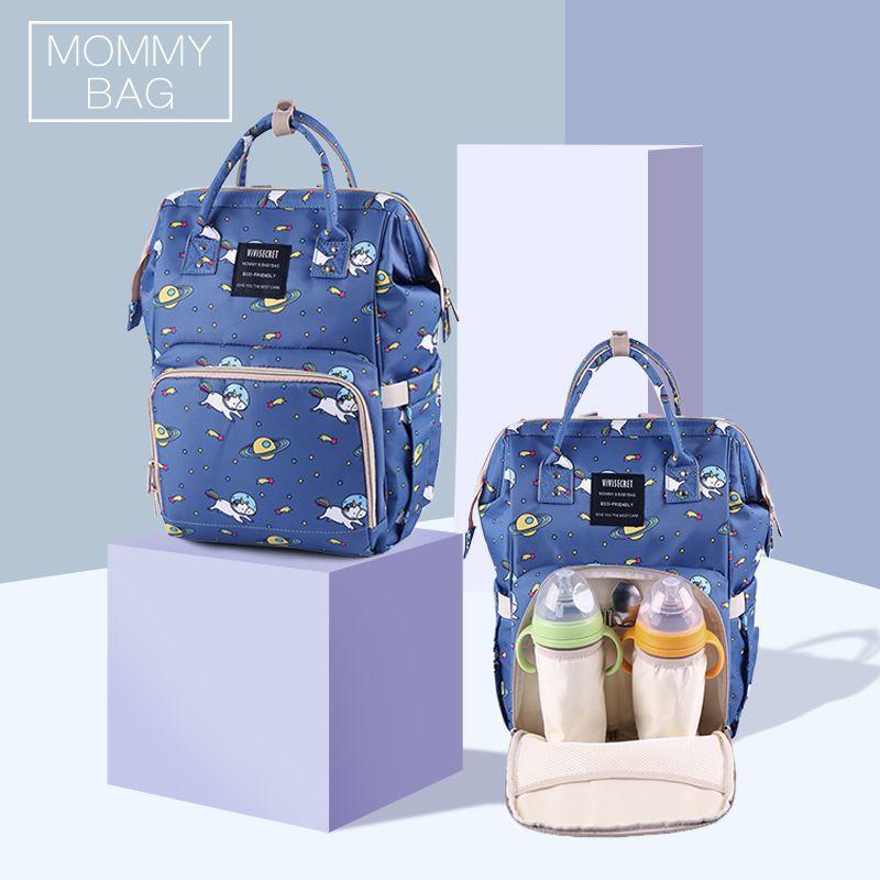 Baby Diaper Bag Unicorn Fox Laming Stroller Mummy Protable Large Capacity Travel Backpack Nursing Hangings Nappy Bag Baby Care