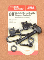 Free Shipping Uncle Mike S QD Super Swivels 1181 2 For 1 Slings Fits Remington 742