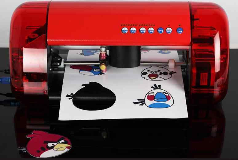 DIY Papier Gestanst Machine Miniatuur Laser Positionering Sterven Snijmachine Plotter Sterven Machine USB Interface Laser Gegraveerde DKJ08